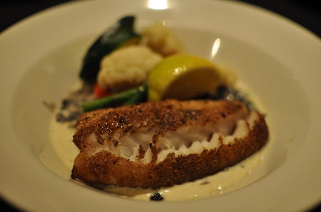 Shitake Crusted Alaskan Black Cod