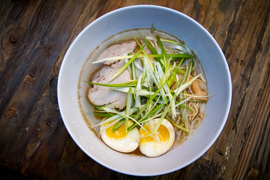 Shio Ramen From Scratch