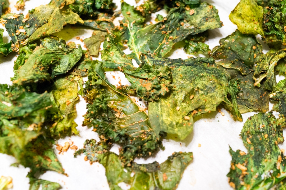 NutraPonics Kale Chips